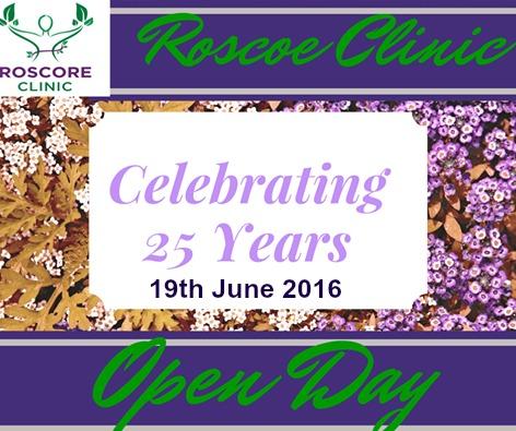 celebrating 25 years Roscore 19th June