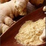 Ginger powder Hay fever natural remedies